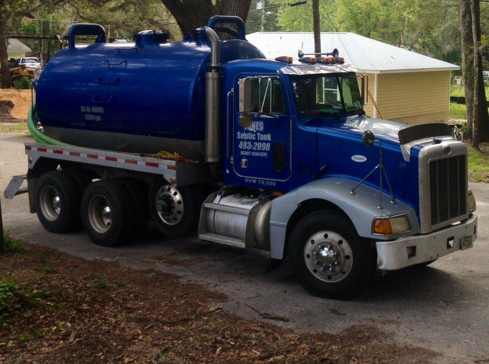 Jones Septic Work Truck