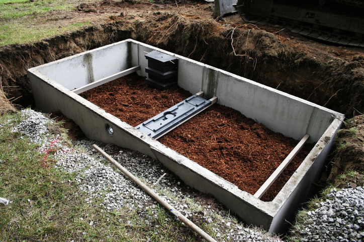 Double Compartment Septic Tank
